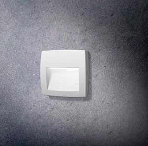 Lámpara led de pared blanca fumagalli