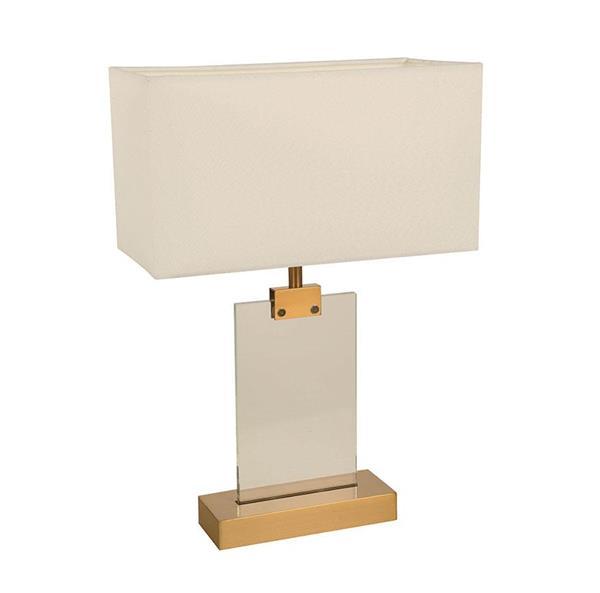Lámpara de mesa blanca 1L