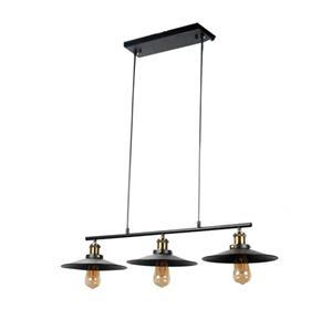 Lámpara de Techo 3 L negro