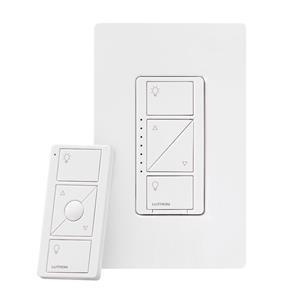 Imagen de Lutron Caseta Wireless Atenuador y Remoto para luces de pared y techo