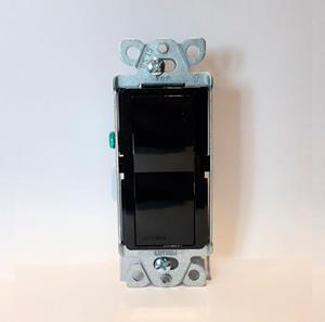 Imagen de Interruptor Lutron 15A 4 Vías para usos Generales negro
