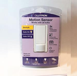 Imagen de Lutron Sensor 2AMP con Apagador Maestro blanco