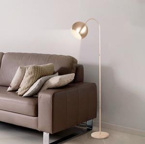Lámpara de Piso 1L níquel S