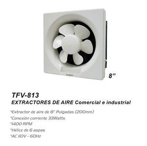"""Imagen de Extractor de Pared Sankey 8"""" blanco / 1400 RPM"""