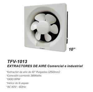 """Imagen de Extractor de Pared Sankey 10"""" blanco / 1300 RPM"""