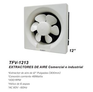 """Imagen de Extractor de Aire de Pared Sankey 12"""" blanco / 1100 RPM"""