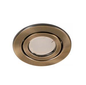 Lámpara empotrable bronce movible