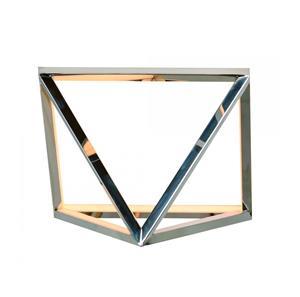 Imagen de Lámpara de Techo Led Triangle 20w 3000k cromo