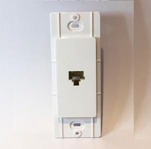 Imagen de Lutron Salida para Teléfono blanco