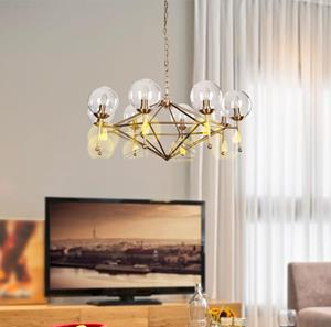 Lámpara Colgante 8L bronce ArteL