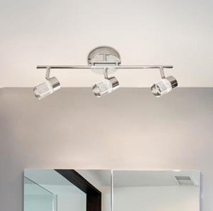 Lámpara Spot 3L cromo 6000k 3w