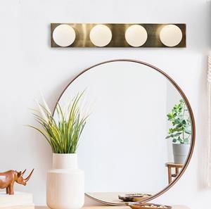 Imagen de Lámpara de pared GULLY bronce 4L