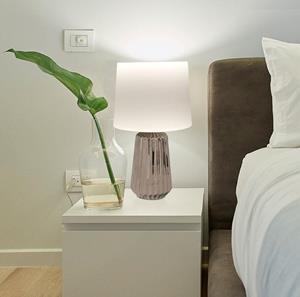 Lámpara de Mesa  1L plateado