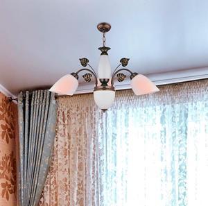Lámpara Colgante 4L bronce
