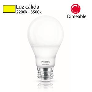 Foco Led philips 9w luz cambiable