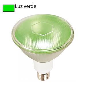 Imagen de Bombillo LED PAR38 luz verde