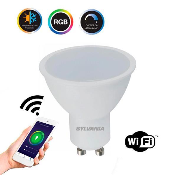 Foco LED Smart MR-16 RGB GU10 dim