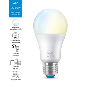 Imagen de Bombillo LED Smart Wiz A19 dimeable