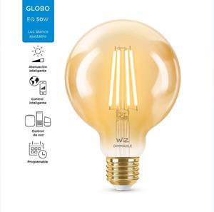 Foco LED Smart Wiz G25 vintage ambar dimeable
