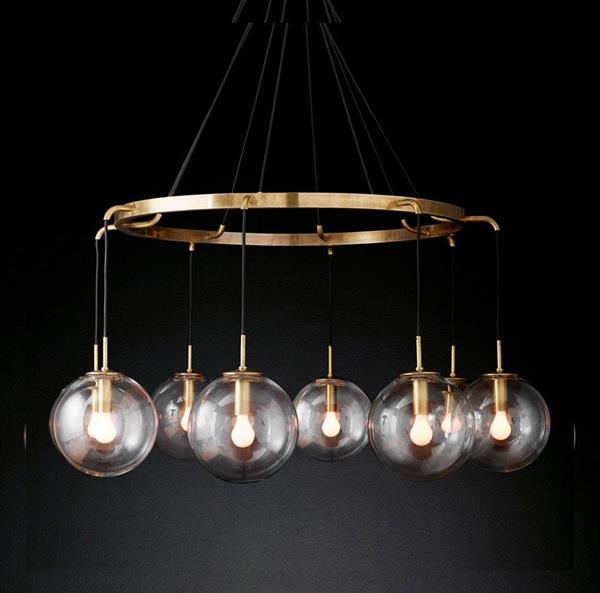 Lámpara Colgante ArteLuce 8L bronce