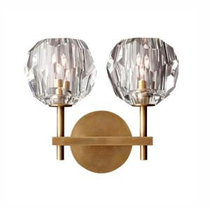 Lámpara de Pared aplique 2L G9 br