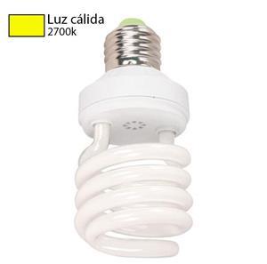 Foco LED CFL luz cálida 2700k
