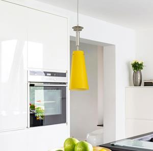 Lámpara Colgante 1L amarillos