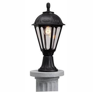 Lámpara Ext. poste negra 1L IP55