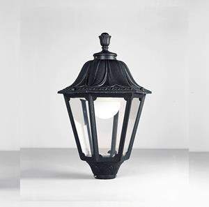 Imagen de Lámpara de Poste Noemi black opal 1L fumagalli