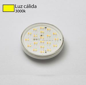 Imagen de Bombillo LED GX53 3w 3000k fumagalli