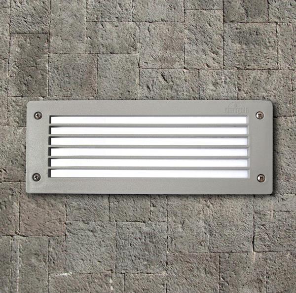 Lámpara de Pared 1L gris E27 FUM
