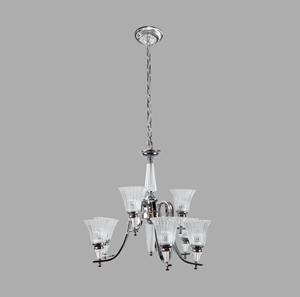 Lámpara Colgante 9L cromo