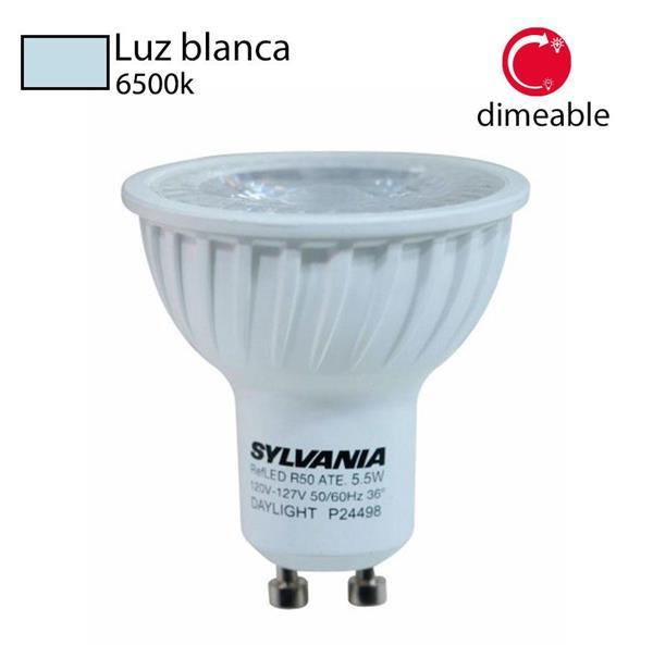 Foco LED dimmer 6500k GU10 SYL