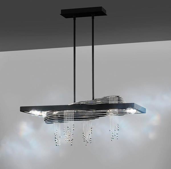 Lámpara Colgante LED 8L Savetti