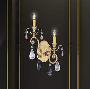 Lámpara de Pared Renaissance Rock 2L Schonbek