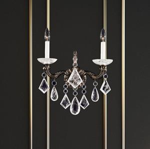 Lámpara de Pared La Scala Rock Crystal 2L Schonbek