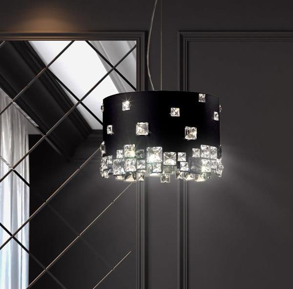 Lámpara Colgante Mosaix 6L Swarovski