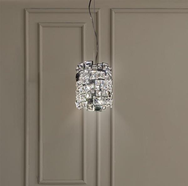 Lámpara Colgante Mosaix 1L Swarovski