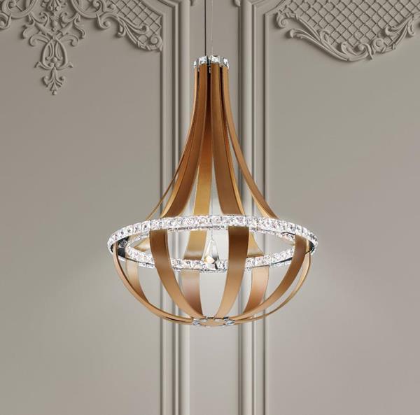 Lámpara Colgante LED Crystal Empire Swarovski