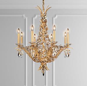 Lámpara Amitys Chandelier 8L cristal Schonbek