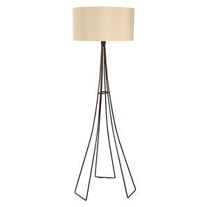 Imagen de Lámpara de Piso 1L tela y negro