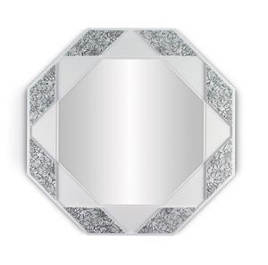 Imagen de Espejo de Pared octogonal blanco y negro Lladró