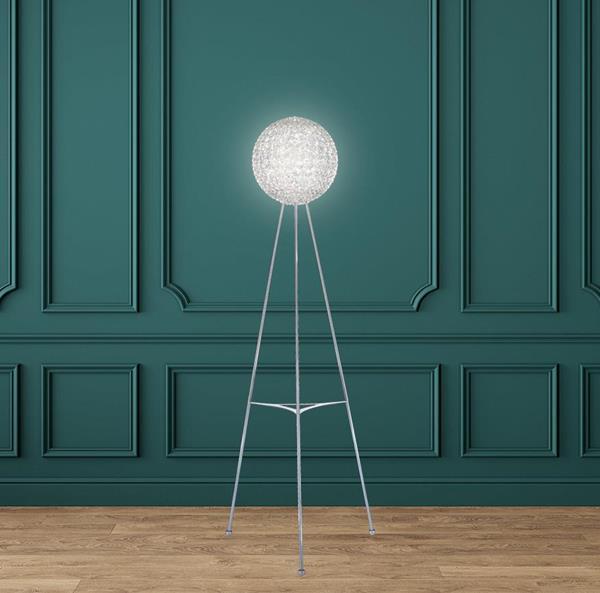 Lámpara de Piso 12L cristal schonbek