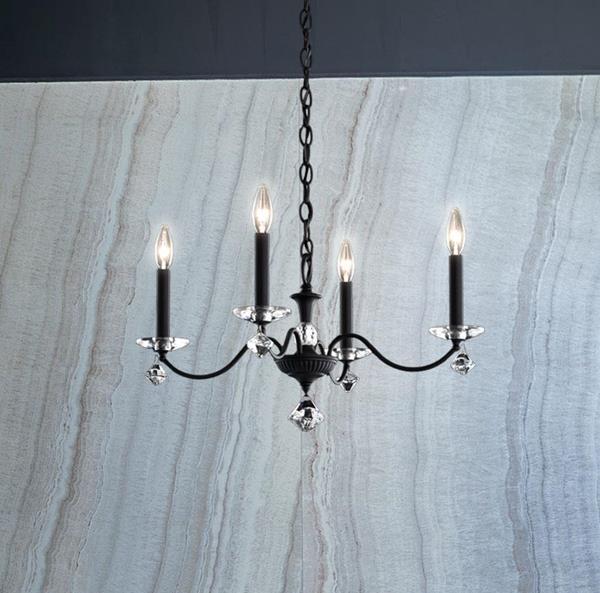 Lámpara Colgante Modique 4L Chandelier Schonbek