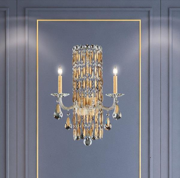 Lámpara de Pared Sarella 2L Wall Sconce Schonbek