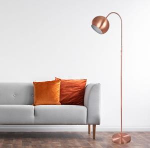 Lámpara de Piso 1L cobre