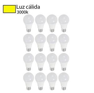 Bombillos LED A55 Luz cálida 16 p