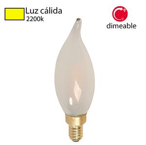 Imagen de Bombillo LED Filamento Vela 2200k (dimeable)