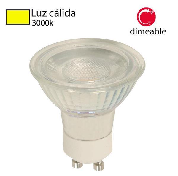 Bombillo LED GU10 5w dimeable 300