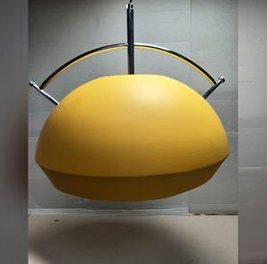 Imagen de Lámpara Colgante 1L amarilla (open box)